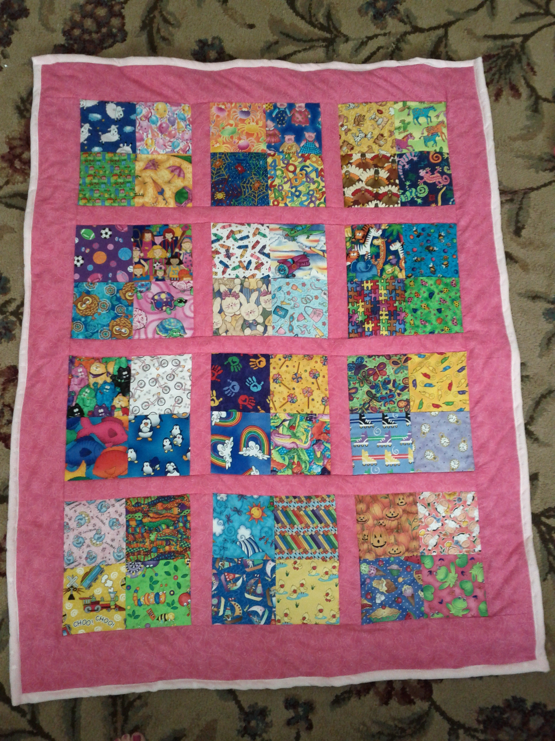 easy quilt patterns for kids - photo #12